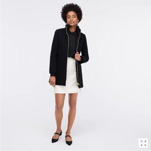 J.Crew Lodge coat in Italian stadium-cloth wool 6